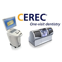 CEREC digital impression system and logo